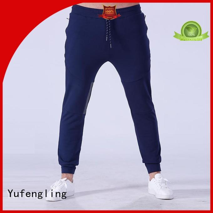 high-quality mens jogger pants wear nylon fabric gymnasium