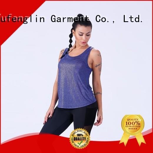 Yufengling female tank top yoga wear