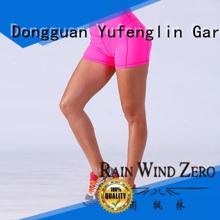 Yufengling comfortable ladies gym shorts manufacturer