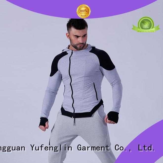 Yufengling mens fashion hoodies workout for jogging
