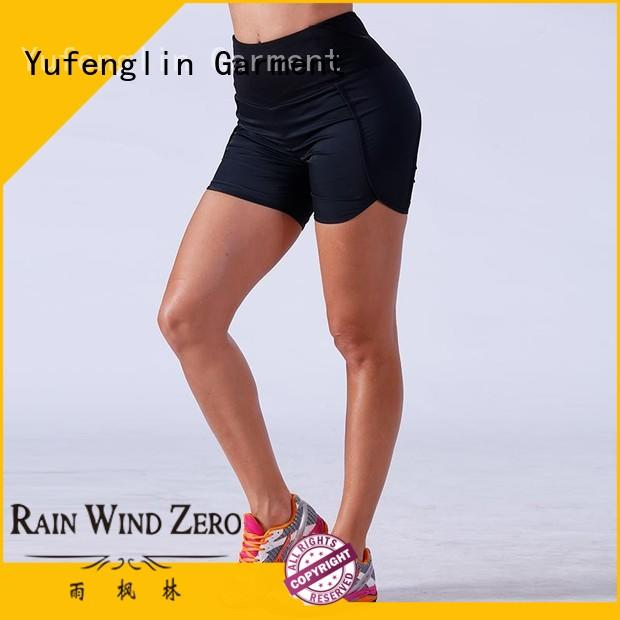 Yufengling exquisite ladies gym shorts in different color