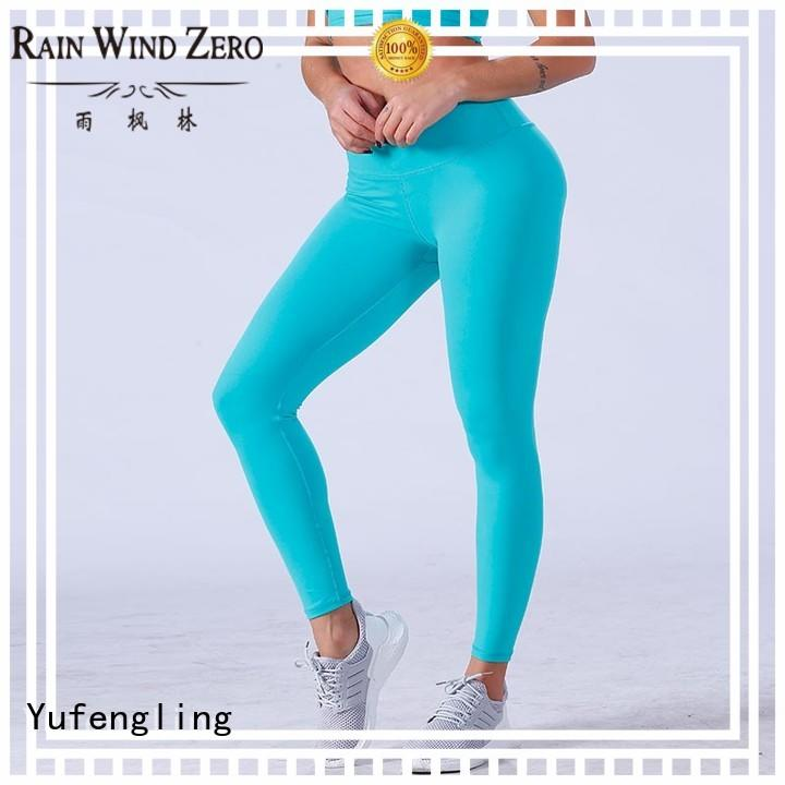 Yufengling high-quality workout leggings sports bra for training house